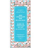 Galerie au Chocolat Milk Chocolate with Roasted Almonds Bar