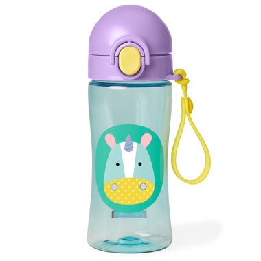 Skip Hop Zoo Lock-Top Sports Bottle Unicorn