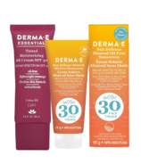 Derma E Everyday Face SPF 30 Light Bundle