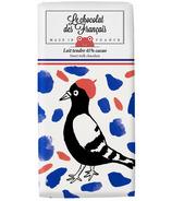Le Chocolat des Francais Milk Chocolate Bird