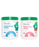 Organika Pink & Blue Mylk Latte Bundle