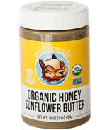 Wild Friends Organic Honey Sunflower Seed Butter