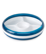 OXO Tot Divided Plate with Removable Ring Navy