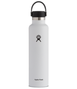 Hydro Flask Standard Mouth with Standard Flex Cap White