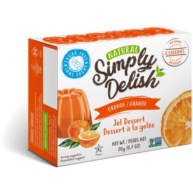 Simply Delish Orange Jel Dessert