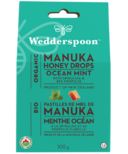 Wedderspoon Organic Manuka Honey Drops Ocean Mint