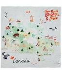Loulou Lollipop Muslin Swaddle Canada