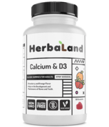 Herbaland Calcium with Vitamin D3 Gummy