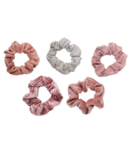 Kitsch Matte Scrunchies Blush & Mauve
