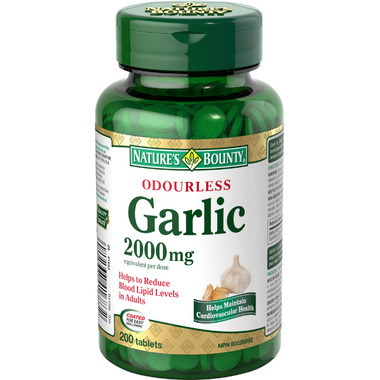 Nature\'s Bounty Odourless Garlic