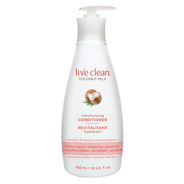 Live Clean Coconut Milk Conditioner
