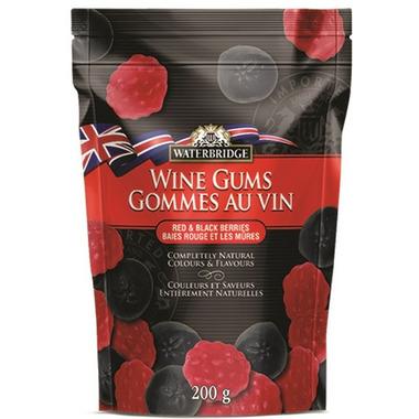 Waterbridge Red and Black Berries Wine Gums