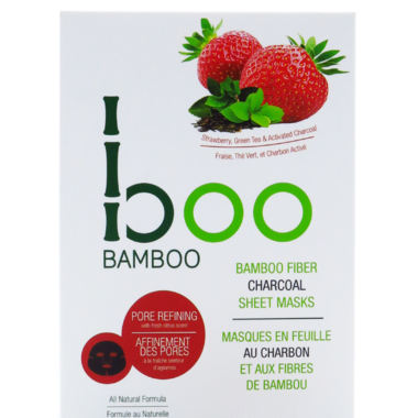 Boo Bamboo Sheet Mask Pore Refining