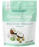Rawcology Rockin' Ranch Superfood Coconut Chips