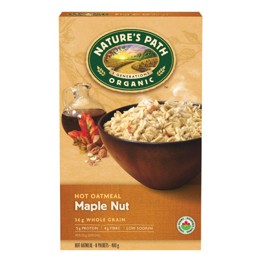 Nature\'s Path Organic Instant Hot Oatmeal