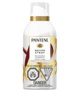 Pantene Never Stray No Crunch Hair Spray Bambou & Soie pour des cheveux brillants