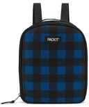 PackIt Freezable Upright Lunch Backpack Navy Buffalo