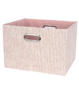 Lambs & Ivy Foldable Storage Bin Pink