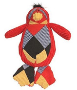 Hugglehounds Chubbie Buddies Squeaky Small Penguin Dog Toy