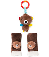 Diono Harness Soft Wraps & Linkie Toy Bear Personnage