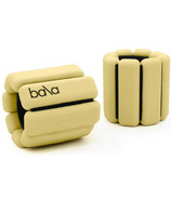 Bala Bangles Classic 1Lb Ankle/Wrist Weights Pale Yellow
