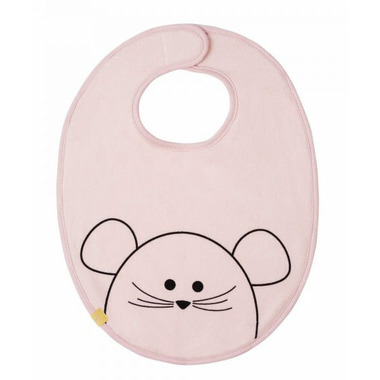 Lassig Little Chums Waterproof Medium Bib Mouse
