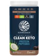 Sunwarrior Clean Keto Protein Peptides Chocolate