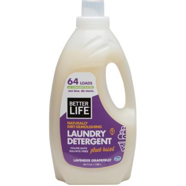 Better Life Laundry Detergent Lavender Grapefruit