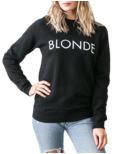 Brunette The Label Blonde Crewneck Black