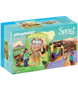 Playmobil Spirit Pru & Chica Linda with Horse Stall
