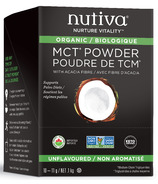 Nutiva MCT Powder Single Packets Unflavoured
