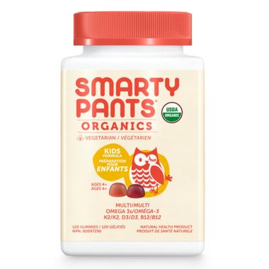 SmartyPants Organic Kids Multi