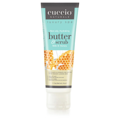 Cuccio Naturale Hydrating Body Butter & Scrub Milk &Honey