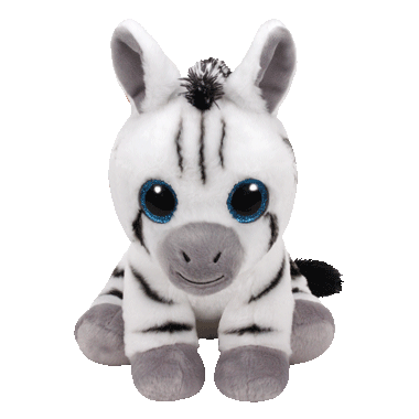 Ty Stripes The Zebra Beanie Babies Regular