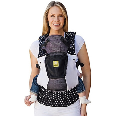 Lillebaby Complete Airflow White Black Spot On Baby Carrier