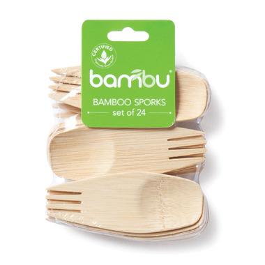 bambu All Occasion Veneerware Sporks