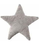 Lorena Canals Washable Cushion Dark Grey Star