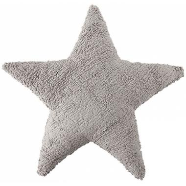 Lorena Canals Washable Cushion Dark Grey Star
