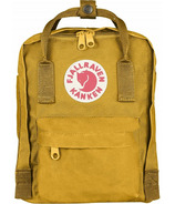 Fjallraven Mini Kanken Backpack Ochre