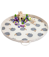 3 Sprouts Play Mat Bag Hedgehog