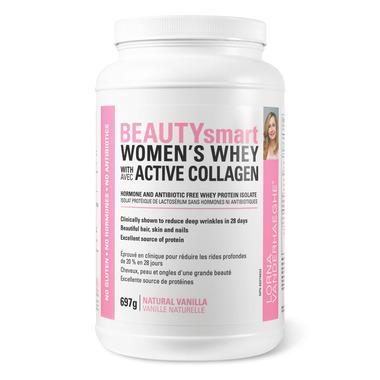 Lorna Vanderhaeghe BEAUTYsmart Women\'s Whey with Collagen Vanilla