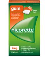 Nicorette Nicotine Gum Fresh Fruit 2mg