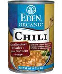 Eden Organic Chili Great Northern Bean & Barley