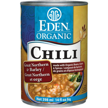 Eden Organic Chili Great Northern Bean & Barley
