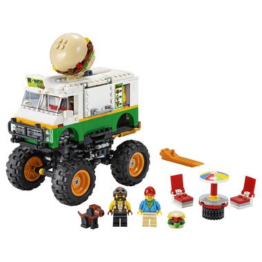 LEGO Creator 3-in-1 Monster Burger Truck Building Kit