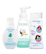 Live Clean Family Essentials Bundle