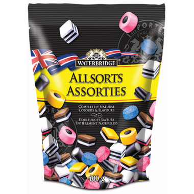 Waterbridge English Liquorice Allsorts Pouch