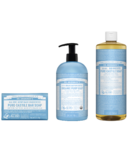 Dr. Bronner's Unscented Bundle