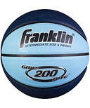 Franklin Sports Grip Rite 200 Mini Rubber Basketball Blue