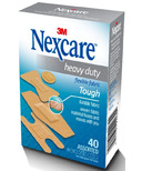Nexcare Heavy Duty Flexible Fabric Latex-Free Bandages